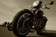 Classic Honda motorbike